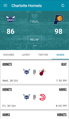 Charlotte Hornets - screenshot