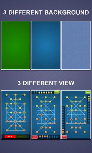Bead 16 - Tiger Trap ( sholo guti ) Board Game ud83eudde0 1.05 screenshots 8