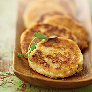 Arepas with Savory Topping