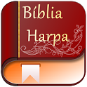 Bible & Harp with video and MP3 icon