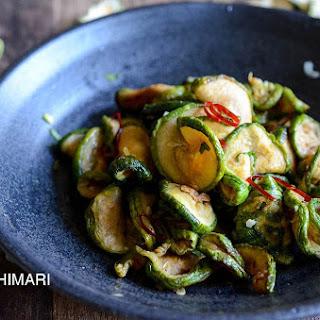 Healthy Dried Zucchini Side Dish-Maleun Hobak Namul Recipe