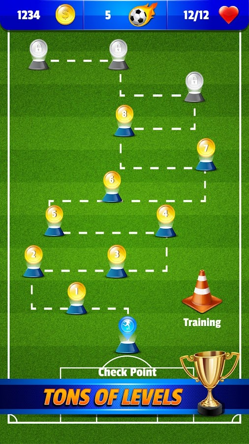 Shoot Goal ⚽️ Penalty and Free Kick Soccer Game- screenshot