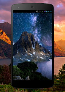 Mountain Lake Pro Live Wallpaper Screenshot