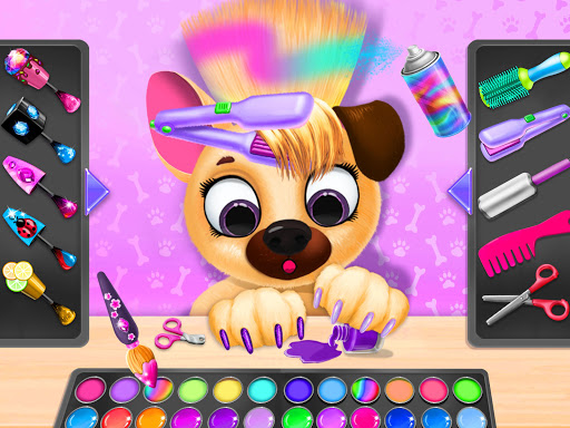Kiki & Fifi Pet Beauty Salon - Haircut & Makeup apkpoly screenshots 9