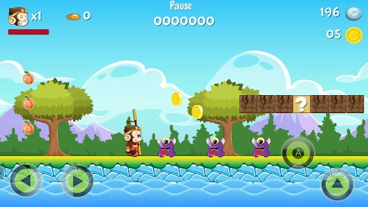 Super Jungle World Adventure screenshot 0
