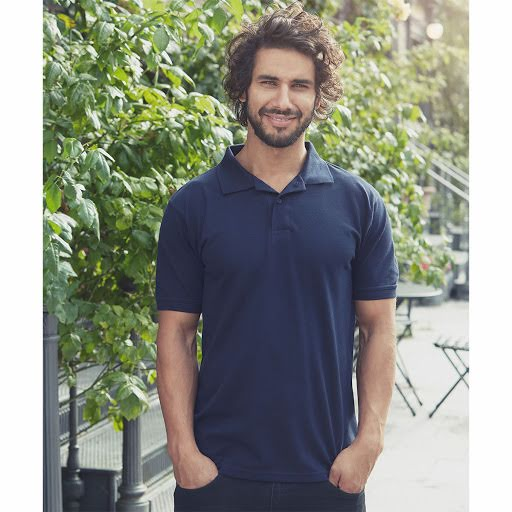 Neutral Organic Fair Trade Polo Shirt Black
