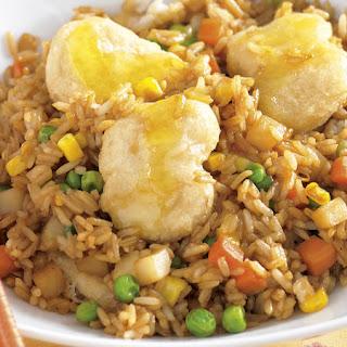 Lemon Chicken with Rice.