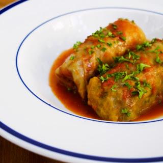 Holubtsi - Beef Cabbage Rolls