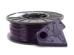 Dark Translucent Purple PRO Series PLA Filament - 1.75mm (1kg)