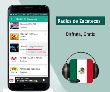Radios of Zacatecas 1.0.4 Unlocked MOD APK Android 2