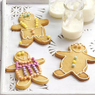 Sugar Cookies (Shaped as Little Boys and Girls).