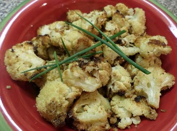 Roasted Cauliflower W/garlic & Parmesan