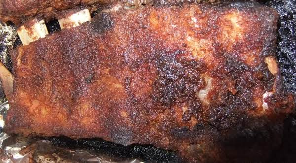My  Ribs After They Where Done Cooking!!
