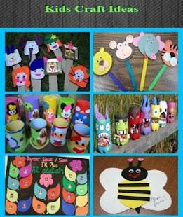 Dětské nápady řemesla - náhled