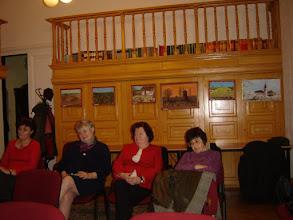 Photo: A Szegedi Szilánkok vendégei. Jobbról a második Pásty Júlia.