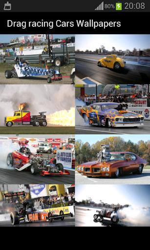 ドラッグレース車の壁紙
