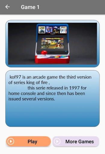 Arcade games : King of emulators 1.0 screenshots 10