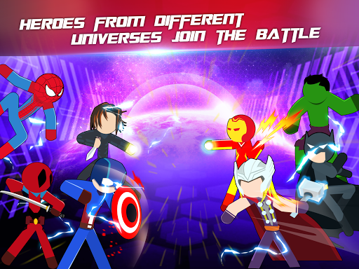 Super Stickman Heroes Fight screenshots 12