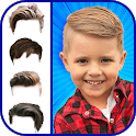 Boy Hair Changer - Hair Style Photo Editor icon