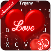 Best Cranberries Love 3D Theme Keyboard