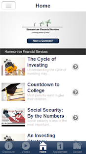 Hammortree Financial Services- screenshot thumbnail