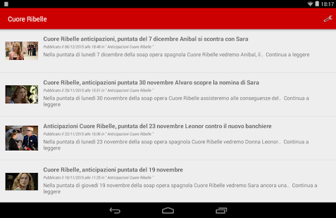 Cuore Ribelle- screenshot thumbnail