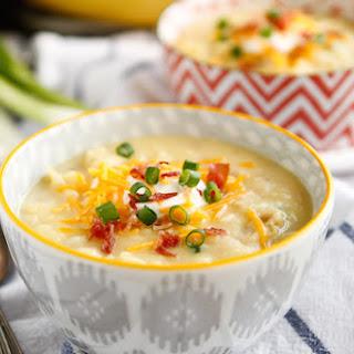 30-Minute Loaded Baked Potato Soup.