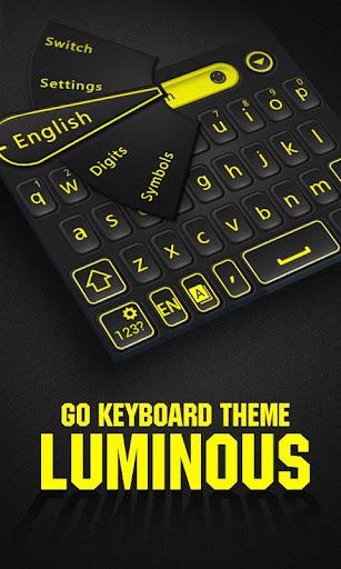 Luminous GO Keyboard Theme