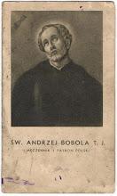 Photo: Obrazek składany, 4 strony. Zawiera życiorys i modlitwę. Wydawnictwo Apostolstwa Modlitwy Kraków, bez daty (1938 r.)