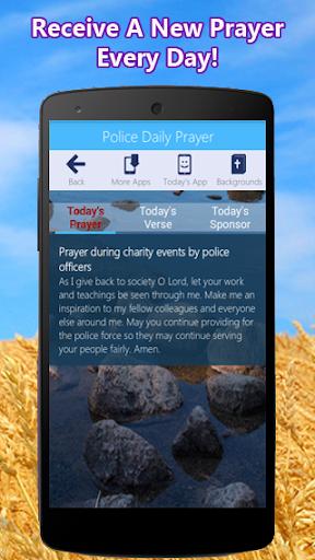 Police Prayer App