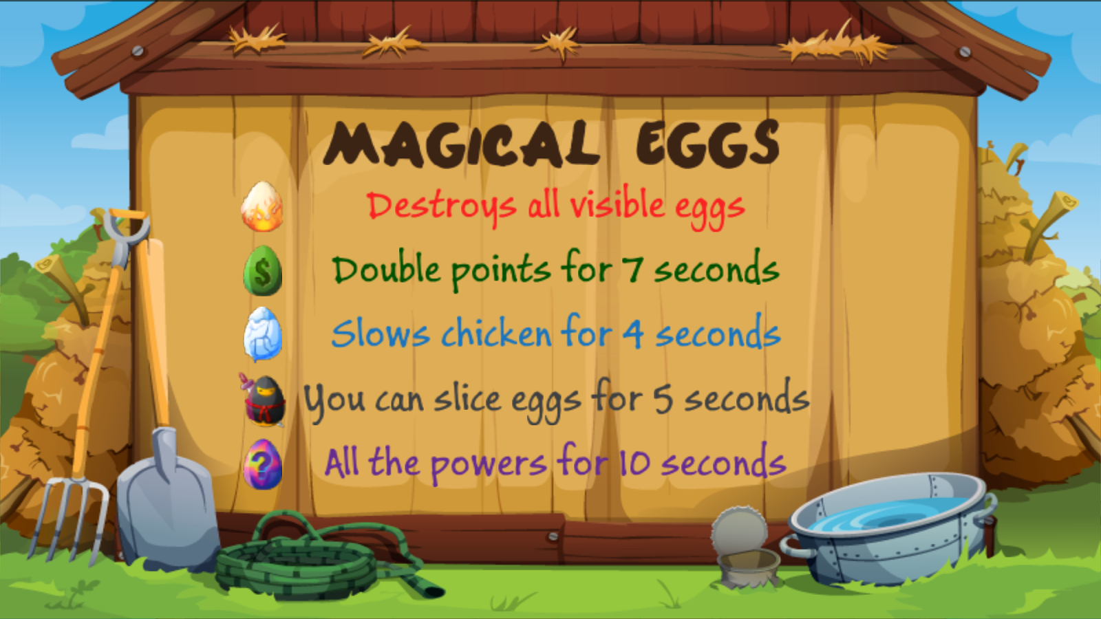 Angry Chicken: Egg Madness!- screenshot