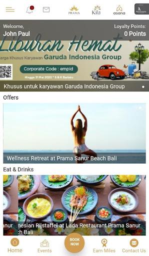 Aerowisata Hotels & Resorts screenshot 1