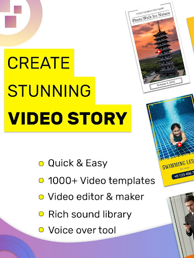 Video Story Maker, Post Maker, Social Video Maker 27.0 Apk for Android 9