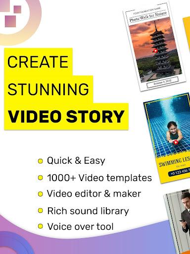 Video Story Maker, Post Maker, Social Video Maker 28.0 screenshots 9