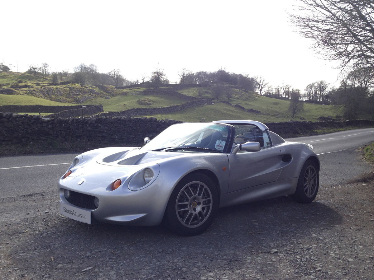 Lotus Elise S1 Hire Haddington