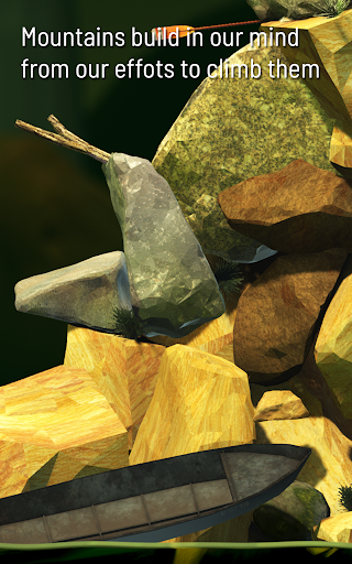 Getting Over It with Bennett Foddy - screenshot