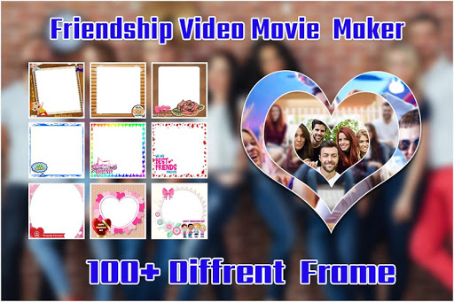 friendship  video maker : bff movie maker screenshot 2