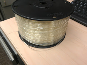Photo: Clear PLA!