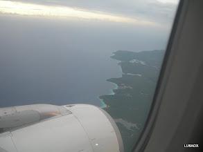Photo: Comienza a verse la Isla de Curazao. Nosotros pensando donde estará PJ2T?