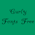 Curly Fonts Free icon