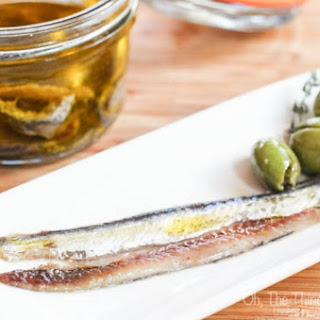 Homemade Salt Cured Anchovies Recipe