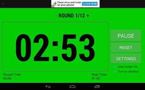 Boxing Interval Timer FREE screenshot 13