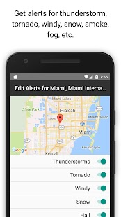 Severe Weather Alerts- screenshot thumbnail