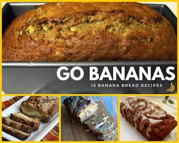 15 Simple Banana Bread Recipes