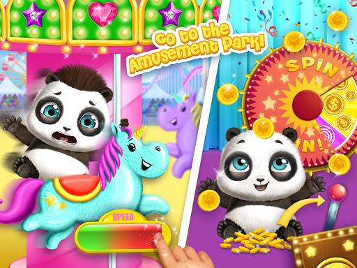 Panda Lu Baby Bear City - Pet Babysitting & Care 3.0.4 screenshots 14