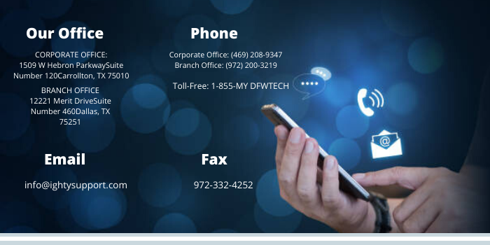 ighty managed it services dallas contact details