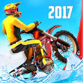 Bike Racing - Water Stunts