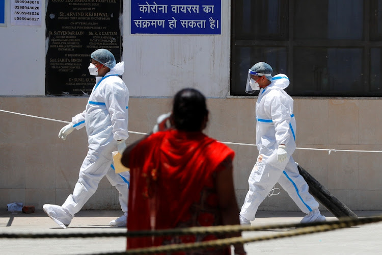 India is in the grip of a second wave of the pandemic, hitting a rate of one Covid-19 death in just under every four minutes in Delhi as the capital's underfunded health system buckles.
