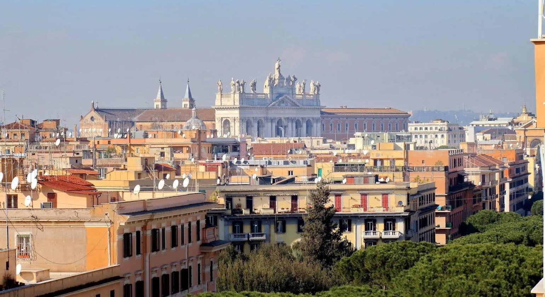 My Sunrise in Rome