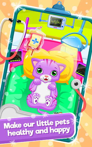 Little Cat Doctor:Pet Vet Game  gameplay | by HackJr.Pw 5